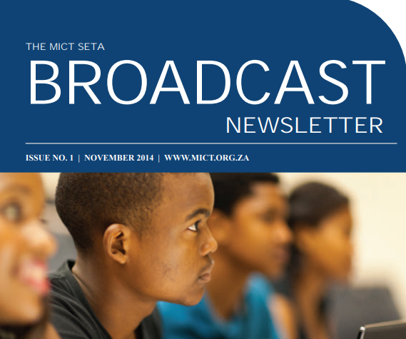 November 2014 MICT newsletter – ISSUE NO.1